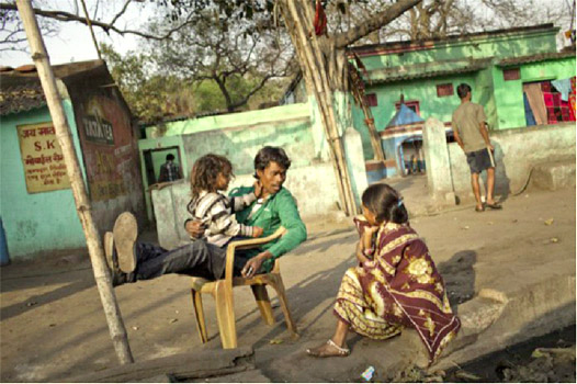 A scene from a Jharkhand village. The key to transforming India lies in making villages coal-free